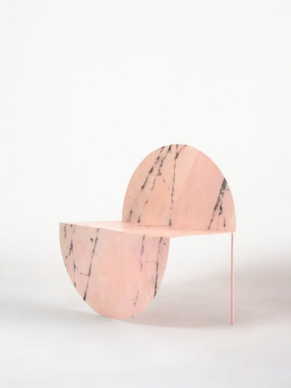 La Redonda Faux Marble - collaboration avec l'artiste Zaida Sabates
