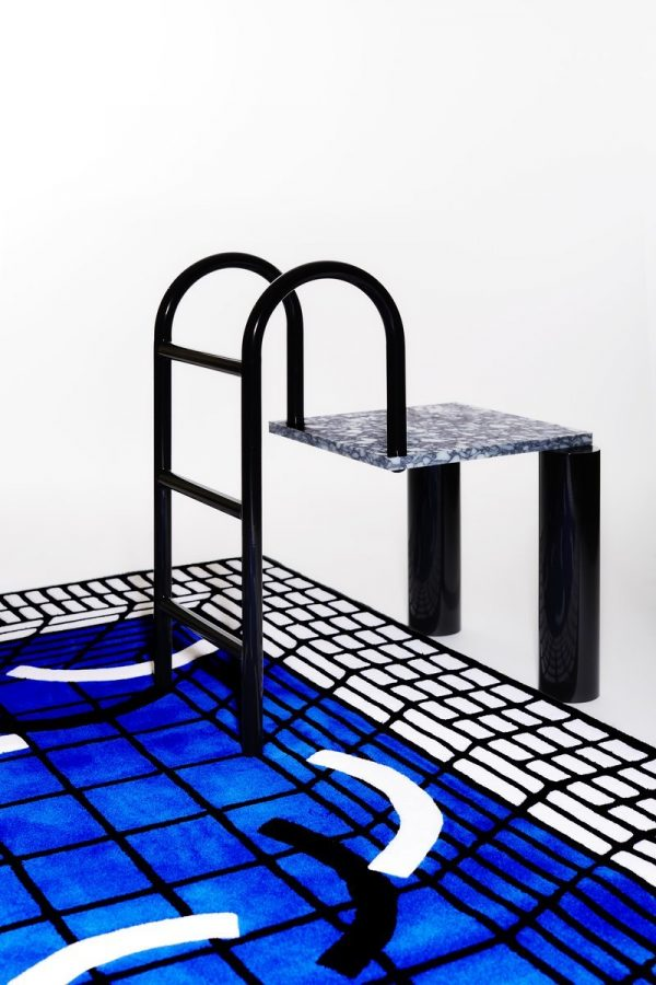 Tapis - piscine Neptune