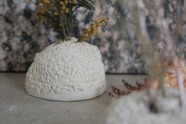 Vase soliflore Combustion