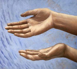 Les mains annonciatrices