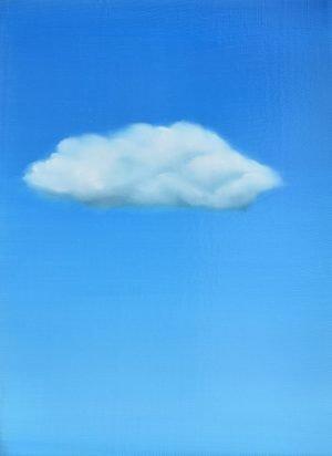 Portrait d'un nuage triste